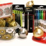 Review and Giveaway – Rubbermaid and Sharpie Holiday Goodies Kit!