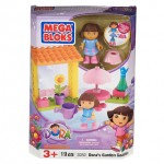 Review of Mega Bloks Dora's Garden Gazebo. Plus, a $5 off $30 Coupon from Mega Brands!