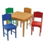KidKraft Nantucket Collection Table with Four Chairs 36% off!