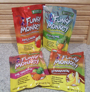 Review of Funky Monkey Snacks Dried Fruit!