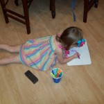 The Kids Had a Great Time at the Expo Washable Markers House Party Event!