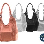 My First Purchase Through No More Rack! 75% off Woven Lines Pocket Handbag!