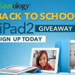 Saveology iPad2 Back To School Giveaway!