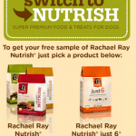FREE Sample of Rachael Ray's Just 6 or Nutrish Dog Food!