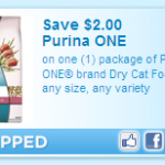 *High Value* Save $2.00 on Purina ONE!