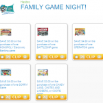 Do You Have a Family Game Night? Check Out These High Value Coupons for Hasbro Games!