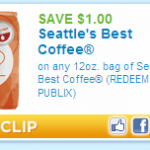 Attention Coffee Lovers!!! A $1.00 off Coupon for Seattle's Best 12oz Bag!