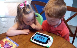 """""""Learn, Create, Share"""" LeapFrog Party! Check out the LeapPad, the TAG, and the Interactive World Map!"""