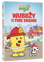Nick Jrs' Wow Wow Wubbzy – Wubbzy and the Fire Engine DVD Review and Giveaway!