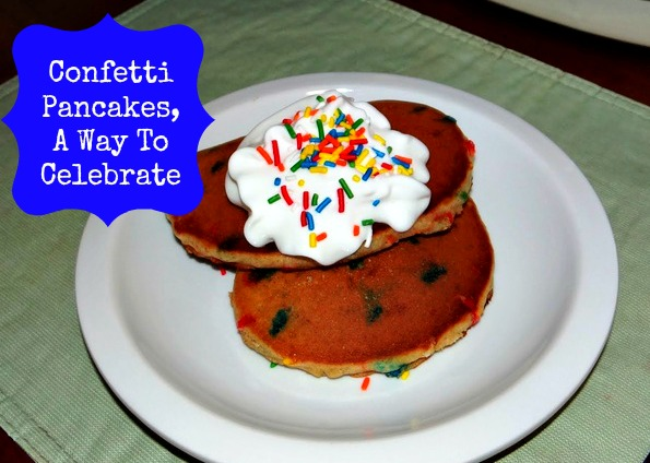 Celebration Confetti Pancakes