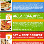 Did You Get The Chili's Coupons For a FREE Appetizer or FREE Dessert?