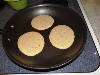 Confetti Pancakes, A Way To Celebrate