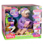 Fisher-Price Little Mommy My Very Real Baby Doll $10 off Coupon at Walmart! For as little as $49.97!