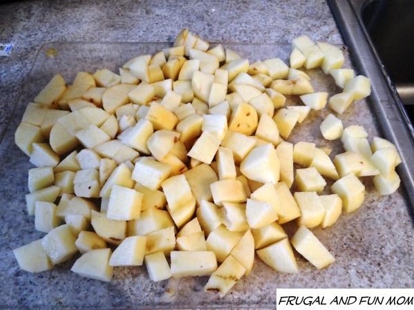 Bacon and Egg Potato Salad Potatoes