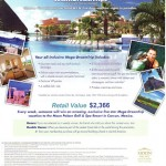 Vacation Giveaway Contest from PHD Travel! A Trip to Cancun Mexico, Worth Over $2300!