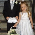 The Ring Bearer and Flower Girl Make Their Debut!