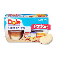 65¢ off when you buy any TWO DOLE® Fruit Parfaits