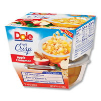 75¢ off when you buy any TWO DOLE® Fruit Crisps