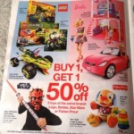 Target Buy 1 Get 1 50% off Toy Sale with a Barbie and Laugh & Learn Love To Play Puppy Coupon Matchup!  Get Barbie Fashionistas for as little as $6.24!