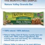 FREEBIE ALERT!!! FREE Sample of Nature Valley Granola Bars for Pillsbury Members!