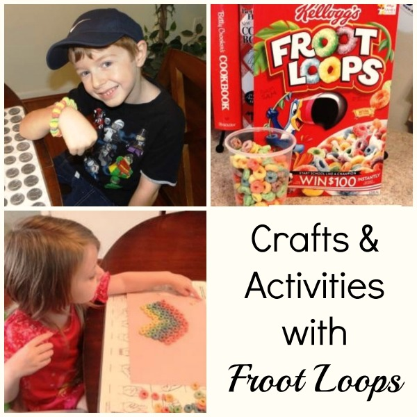 Crafts and Activities with Froot Loops