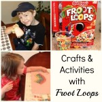 Crafts and Activities with Froot Loops!  Frugal and Fun Child Activities!
