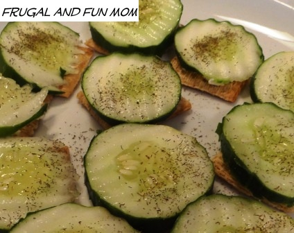 Cucumber and Triscuits 006