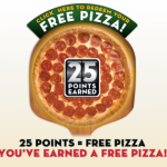 Score a FREE Pizza at Papa Johns! Use This Special Code for 25 Reward Points!