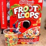 4 Fun Crafts and Activities to Do with Froot Loops!  Frugal and Fun Child Activities!