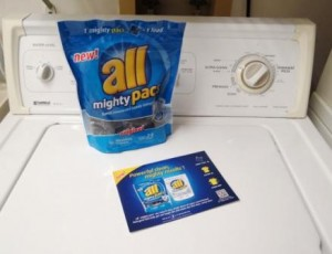 Thanks to All and Smiley360 I Received a Package of All Mighty Pacs! Print Your .75 off Coupon While Supplies Last!