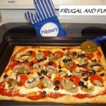 Review, Giveaway, and $1.25 off Coupon for NEW Pillsbury Artisan Pizza Crust with Whole Grain!  Check Out The Pizza I Made!