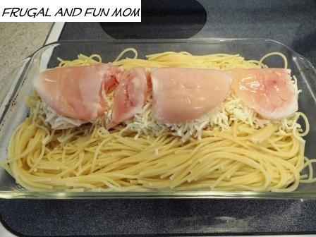 Chicken Mozzarella Bake Recipe! 4 Ingredients and Delicious! - Frugal ...