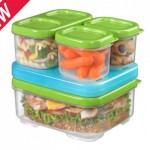 Rubbermaid LunchBlox Kit Review! An Environmentally Friendly, BPA FREE, Easy Way to Pack Your Child's Lunch for School!