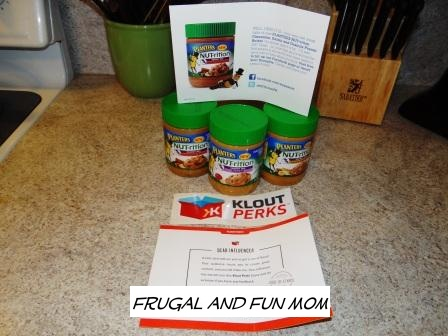 My FREE Klout Perk! 3 Jars of Planters NUT-rition Energy Mix Peanut Butter To Test and Review!