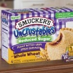 NEW $1.00 off Uncrustables Coupon.  Any Size Reduced Sugar on Whole Wheat Sandwiches!