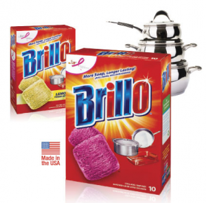 Review of Brillo Heavy Duty Steel Wool Soap Pads! They Worked Great On My Sink!