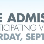FREE Museum Day Saturday, September 29, 2012!
