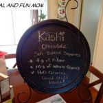 My First Official Moms Meet Event!  Kashi Chocolate Soft-Baked Squares!