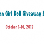 Enter To Win an American Girl Doll of YOUR CHOICE! Giveaway Ends October 14th, 2012!