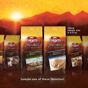 FREE Sample of Folgers Gourmet Selections Coffee!