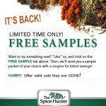 FREE Sample of Spice from The Spice Hunter!