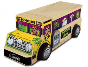 FREE Kid's Event at Lowe's this Saturday 10/13/2012! The Kiddos Are Building a Ghoul Bus!