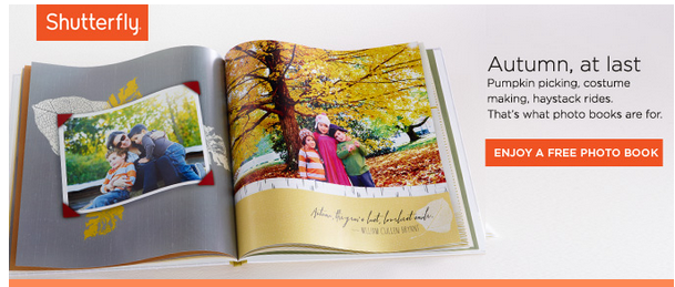 FREE 8×8 Hardcover Photo Album from Shutterfly and Klout Just Pay Shipping!  See If You Qualify!
