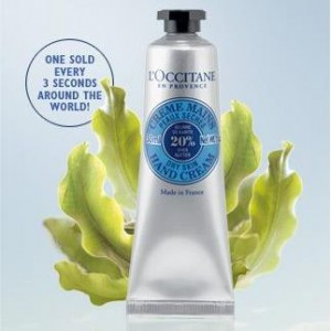 FREE L'OCCITANE en Provence Shea Butter Hand Cream!