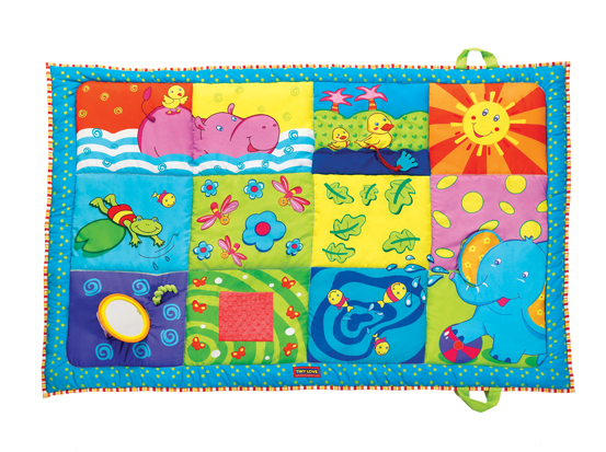 Tiny Love Super Mat Review! A Product for Baby Play and Tummy Time!