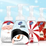 Review of Dial Complete Antibacterial Hand Soap in Holiday Designs!  Cute Bottles and Nice Scent!