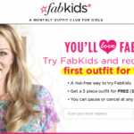 FREE 3 Piece Outfit From Fabkids! Just pay Shipping and Save $32.00!