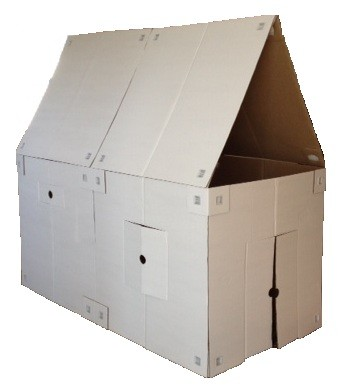 Review and Giveaway of My Box Fort! A Playhouse Kit That ...
