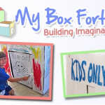 Review and Giveaway of My Box Fort! A Playhouse Kit That Creates Many Designs and Encourages Imagination!