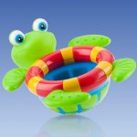Review of the Nuby Tub Time Turtle! A Toy That Makes Bath Time Fun!